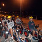 Noche de karts en el Multiaventura & English Camp