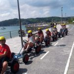 De ruta con los karts en el Multiaventura & English Camp
